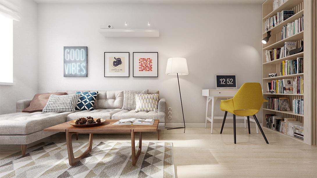 Decoracion facil for Decoracion apartamento pequeno 2016