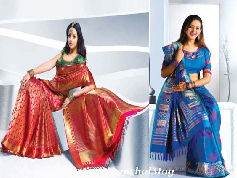 Fashion 2012 pulimoottil silks pulimoottil lehengasarees pulimoottil embroidered saree thecheapjerseys Gallery