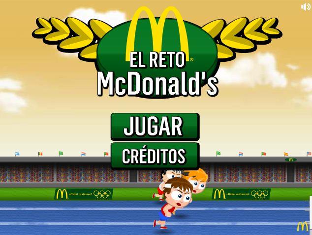 Juego El Reto McDonald's