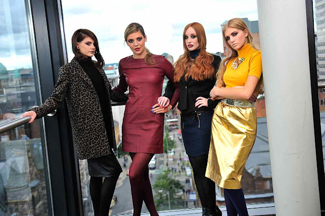 BFW+Models2 Belfast Fashion Week AW13 Launch