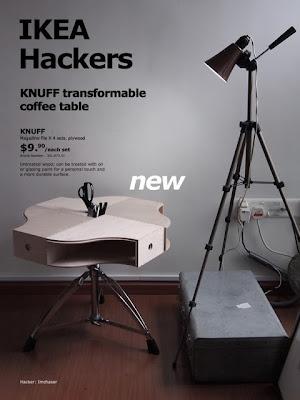 Rediseñar con Ikea hackers