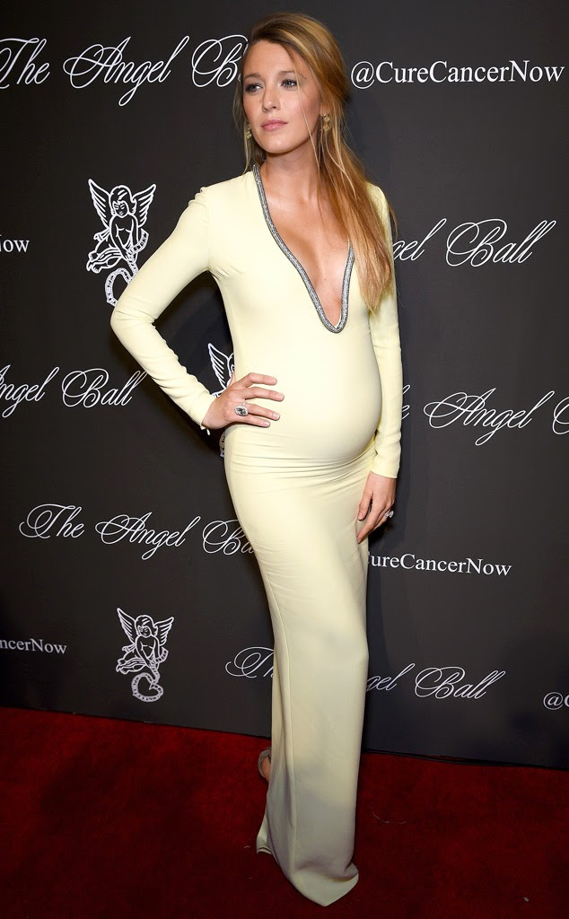 blake lively pregnant gucci dress