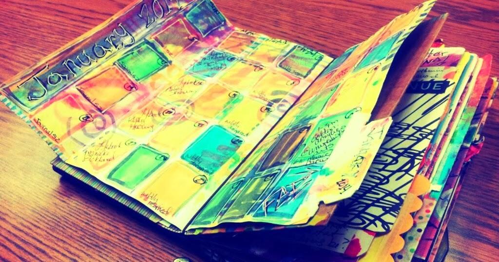 Midori Traveler S Notebook Calendar : The journal junkie midori madness month at a glance