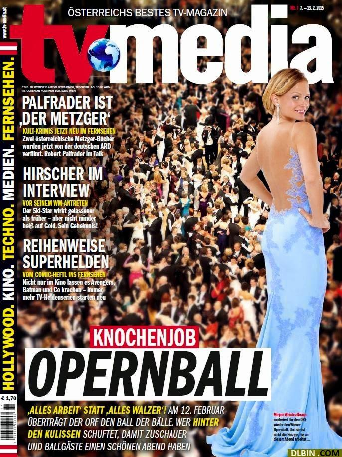 Television presenter, Actress: Mirjam Weichselbraun - TVMedia Austria