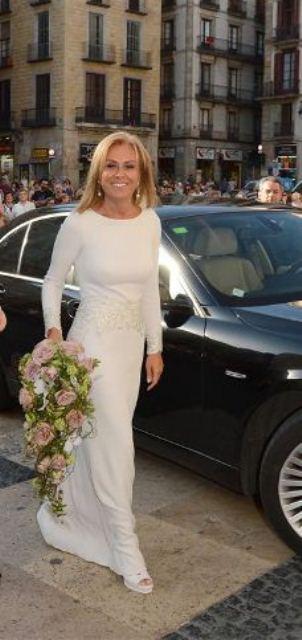 Vestidos novia ceremonia civil rosa clara