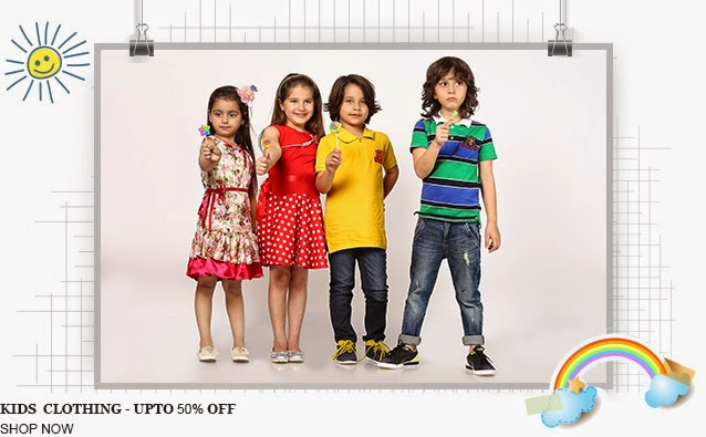 Buy Roses Girl's Clothing Flat 60% off  Starts from Rs. 449 at  Fashionandyou:buytoearn