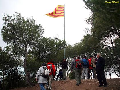 El cim del Pujol de la Guàrdia. Autor: Carlos Albacete