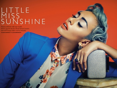 Glamor: Kimmy Jayanti in Grazia Indonesia's Little Miss Sunshine