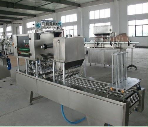 honey jam juice jelly cups forming filling sealing machine tasses de remplissage machine à sceller