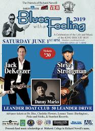 Saturday, June 1, 8pm  @ Leander Boat Club (Hamilton) $30