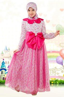 Model Baju Gamis Anak Perempuan