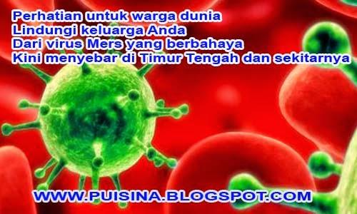Puisi Kesehatan Bahaya Virus Mers