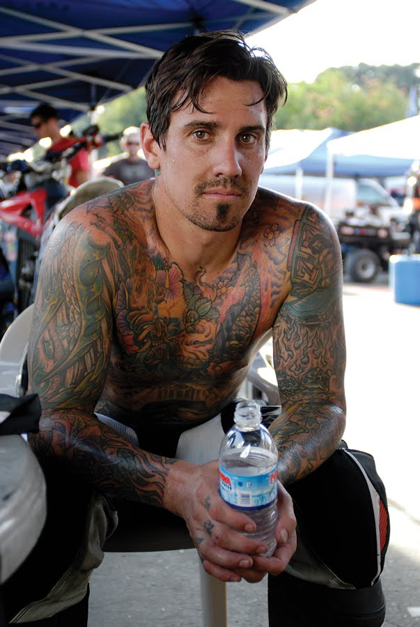 Hair tattoo lifestyle carey hart 39 s tattoos style for Ben corn tattoo