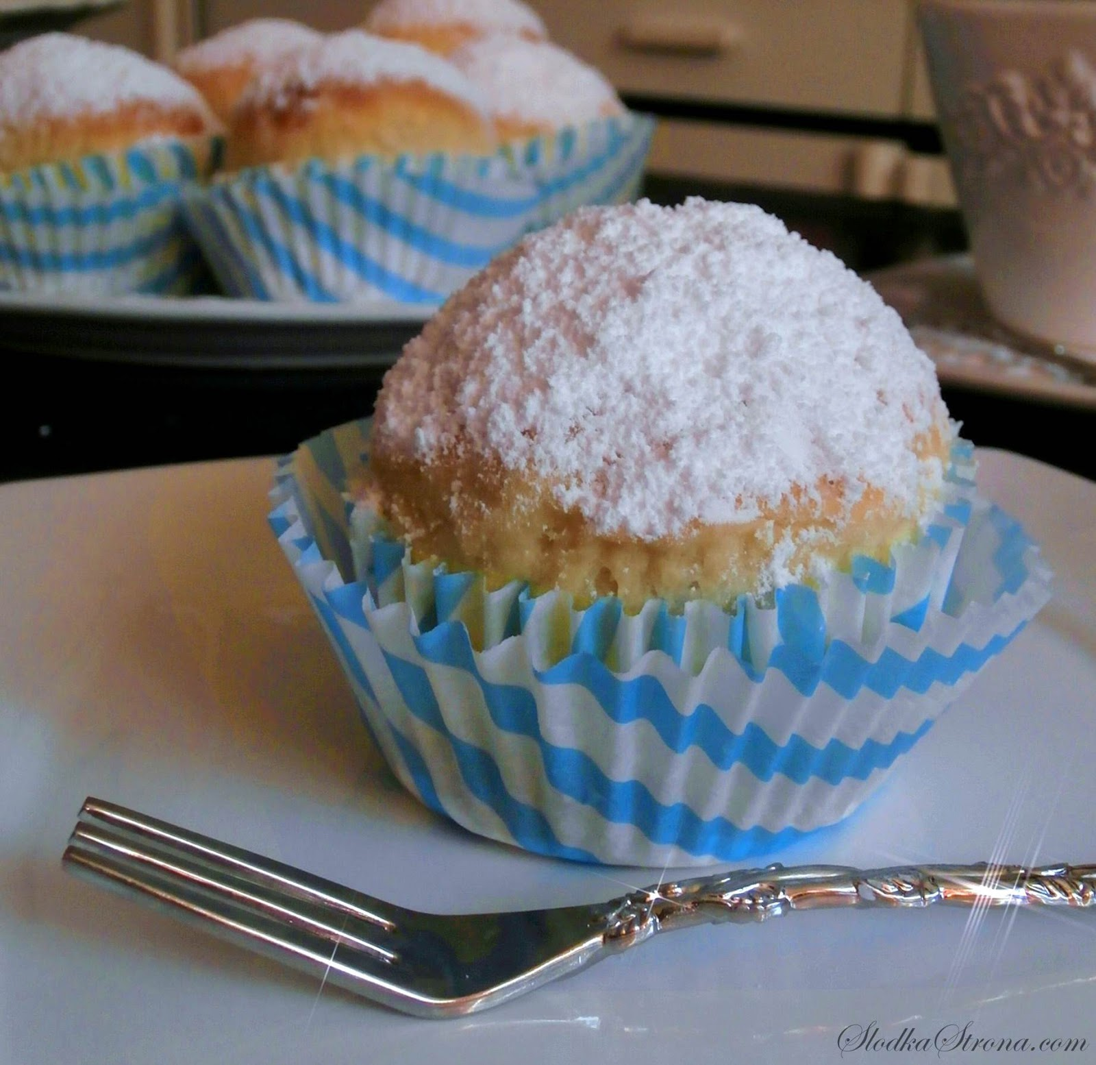 muffinki drozdzowe