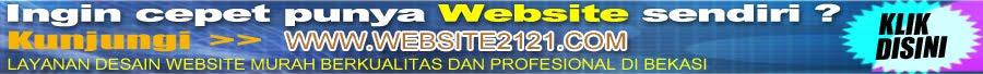 Layanan desain website murah berkualitas dan profesional di bekasi