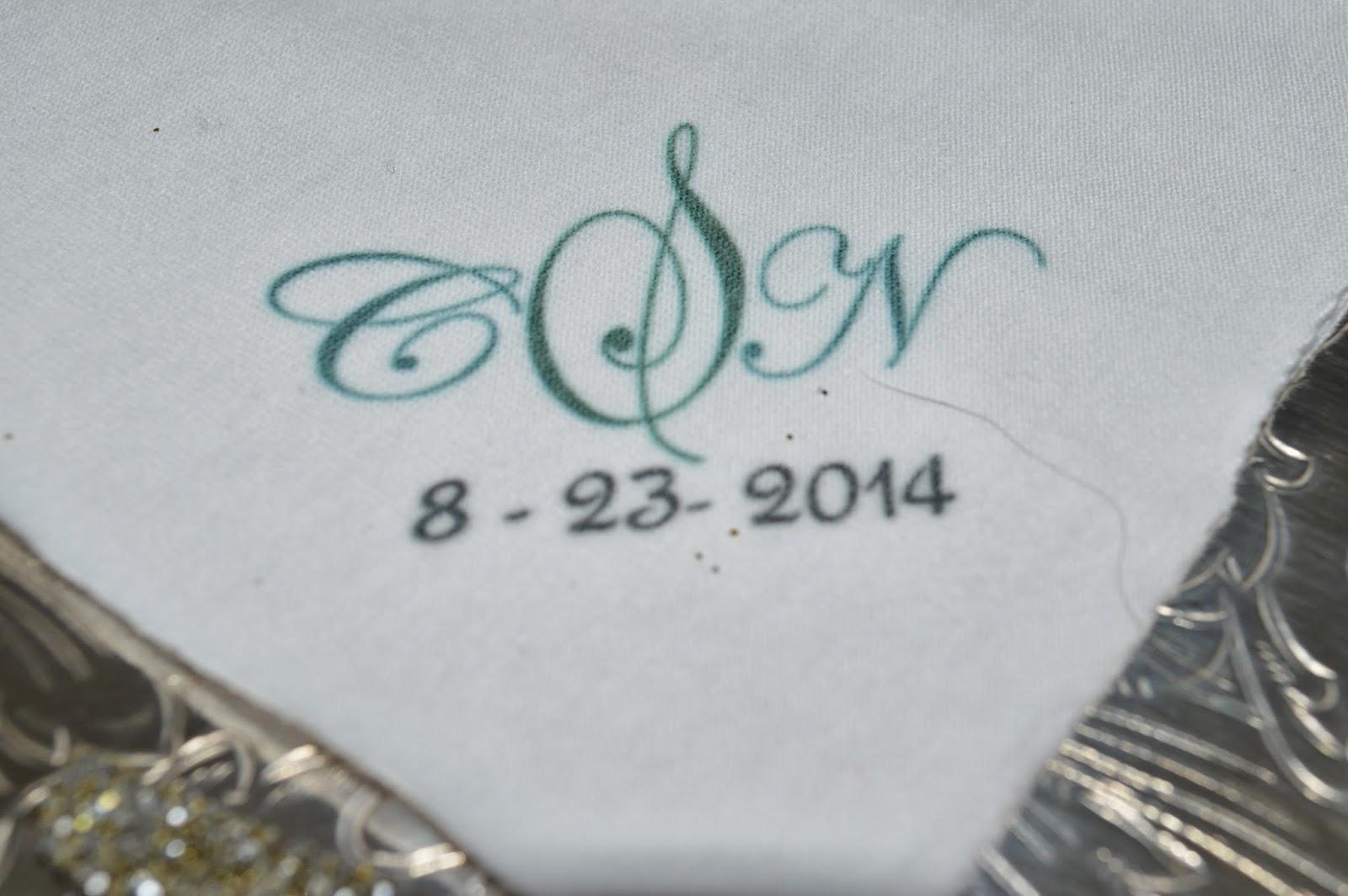 This Hip New Orleans Second Line Handkerchiefs Has The Wedding S Three Initial Monogram