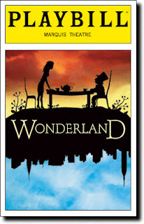 alice in wonderland playbill