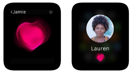 Condividere battito con Apple Watch