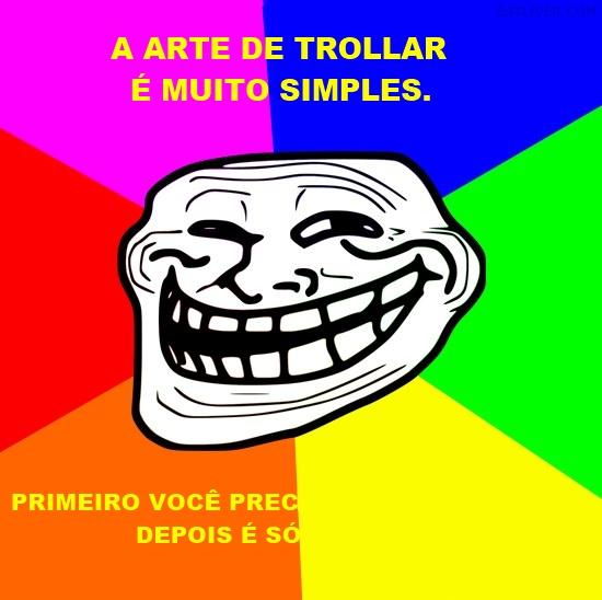 A arte de trollar