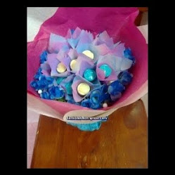 Coklat Hand Bouquet - 30bj
