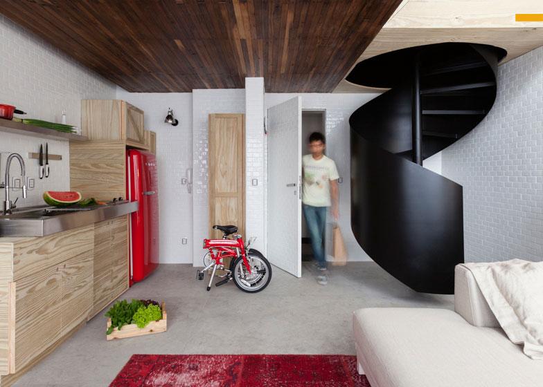 Disegno à Milanesa: Micro apartamento!