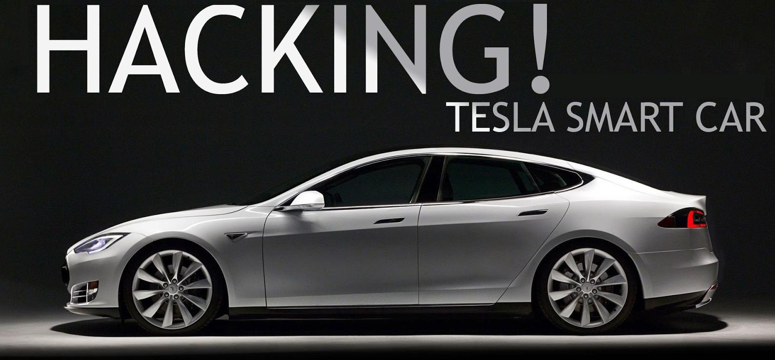 Tesla hackers, Tesla car hacking, Tesla hacked