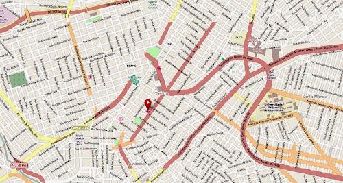 Mapa do centro de Uberlândia