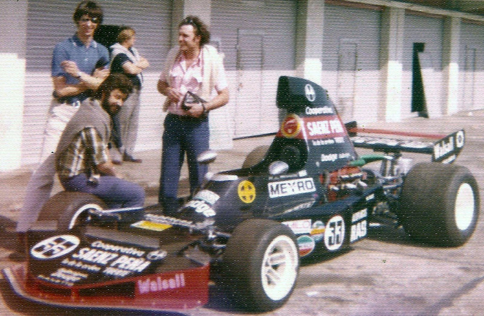 26 de setiembre, 1976 / CORRIA LA MAF1 EN BUENOS AIRES Y GANABA PASSADORE