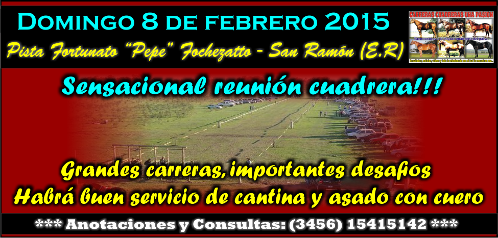 SAN RAMON - 08.02.2015