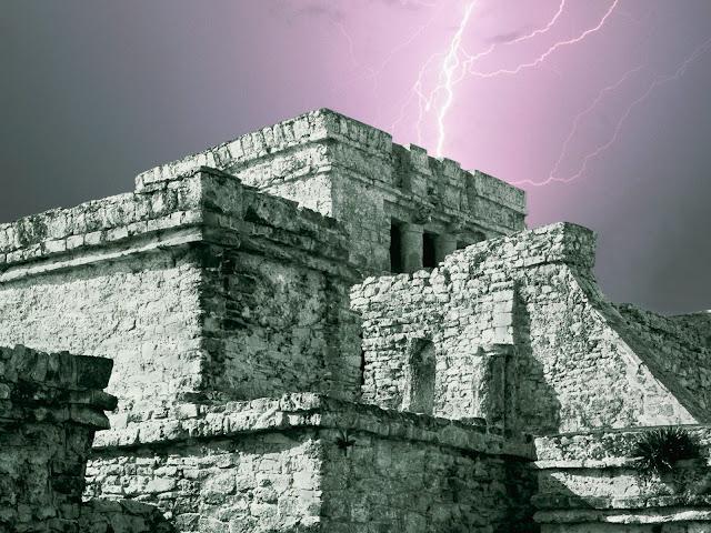 El Castillo de Tulum, Yucatán, México