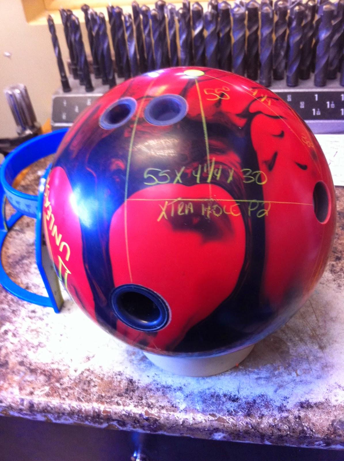 Le bowling de bastian 33 2 equilibrage des noyaux de boules de bowling - Dimension piste bowling ...