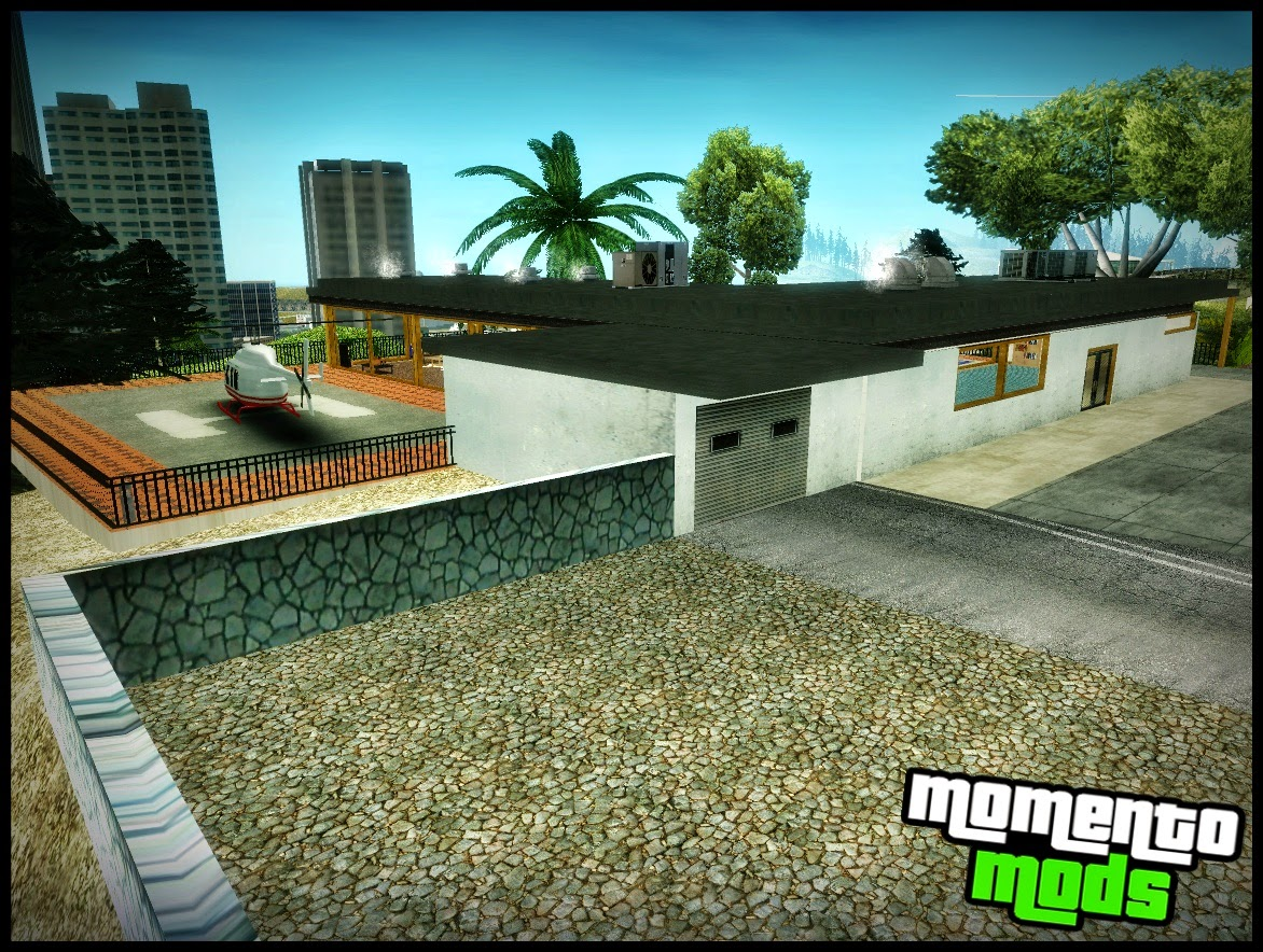 GTA SA - Beta Melhorada Vinewood Safe House V2