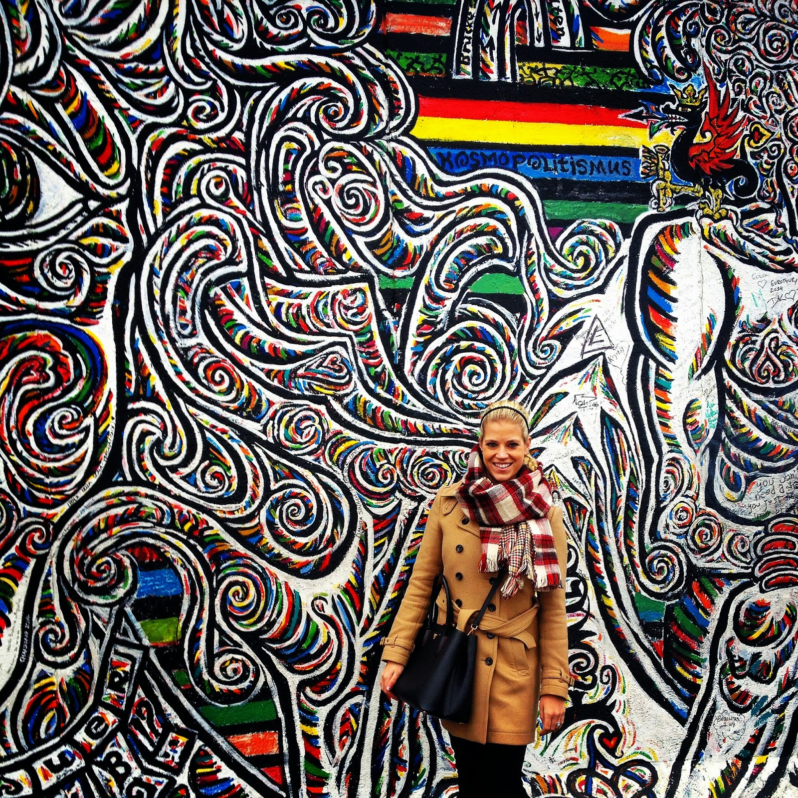 East Side Gallery paintings