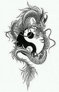 Tatoos y Tatuajes de Dragones en Blanco y Negro, parte 2