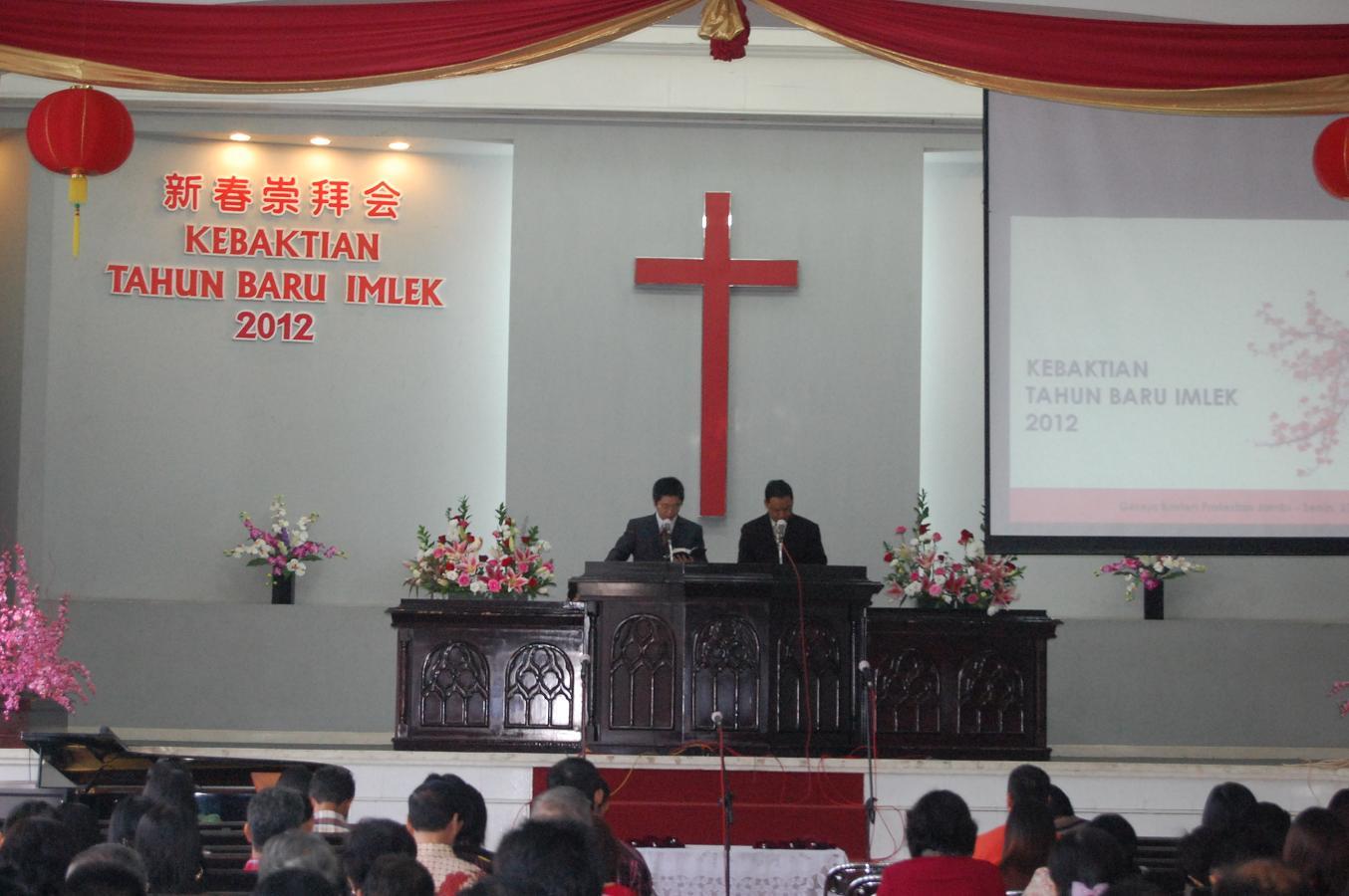 Sambut Imlek 2563, Umat Kristen Tionghoa Lakukan Ibadah Syukur