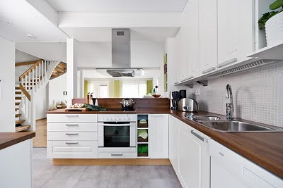 Le style Scandinave et du bois pour votre cuisine