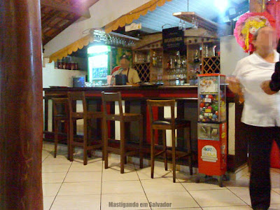 Casarrara Restaurante: Ambiente interno (2o andar)