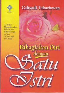 bahagiakan diri dengan satu istri cahyadi takariawan rumah buku iqro toko buku online buku keluarga islam