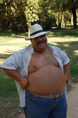 gay mustache - chubby hairy gay