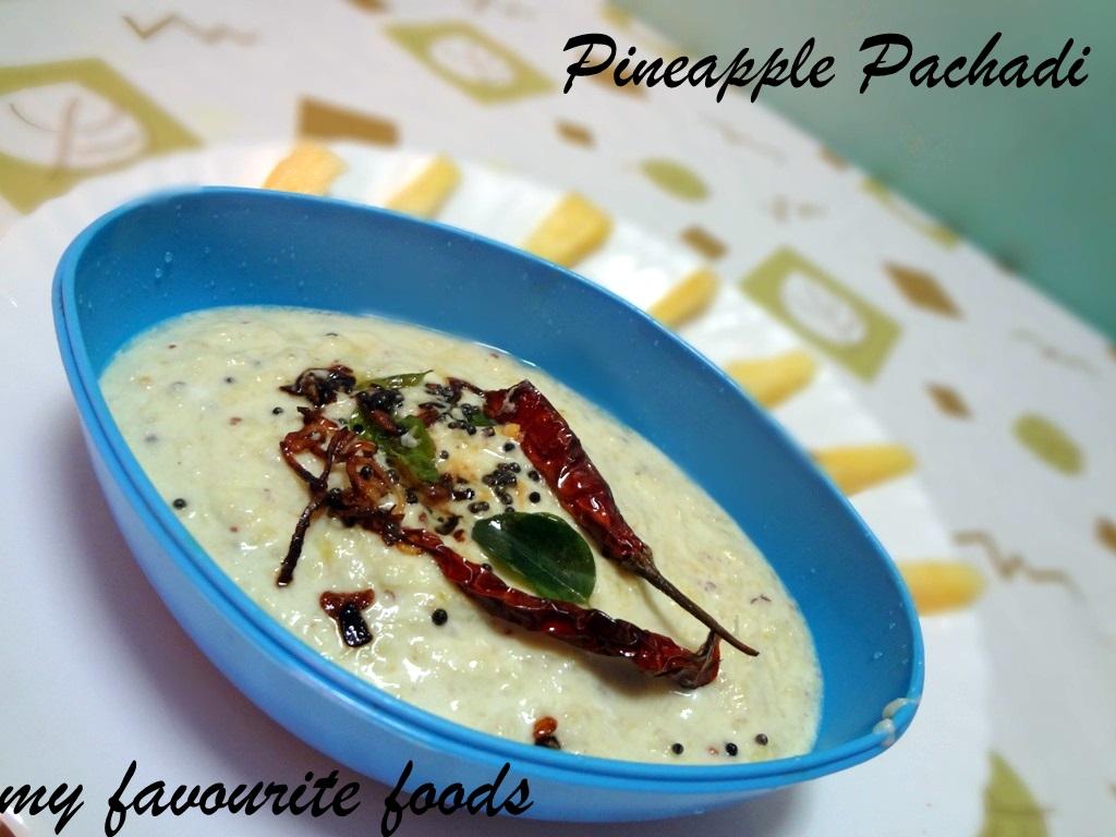 pineapple-pachadi