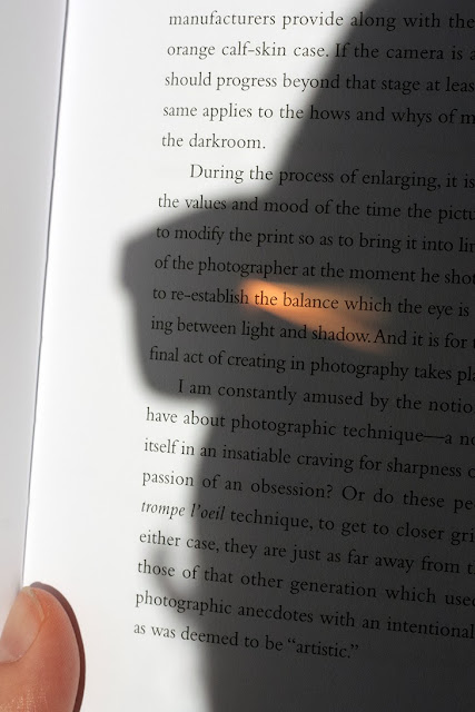 shadow of self reading of Henry Cartier Bresson