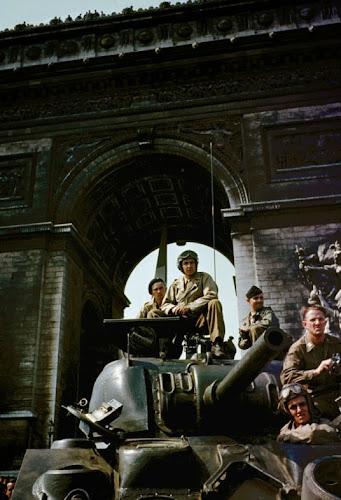 Fotos Coloridas e Raras da Segunda Guerra a Invasão do Dia D