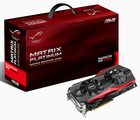 Asus ROG Matrix R9 290X Graphic Card