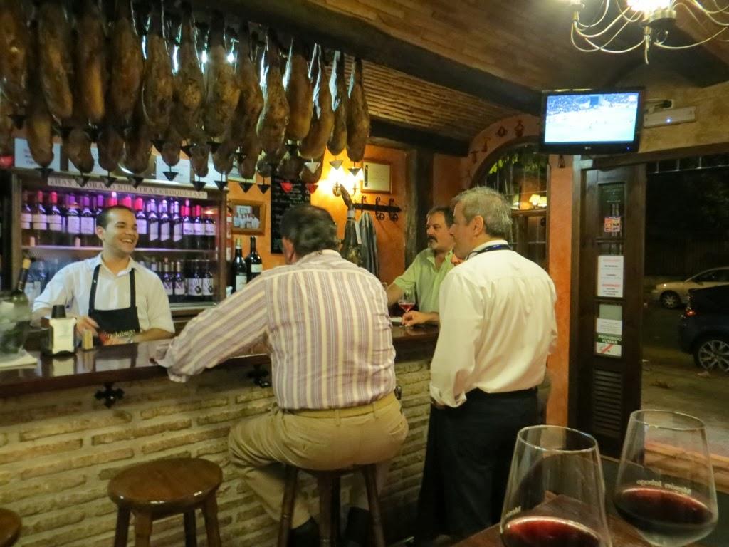 Urbina vinos blog restaurante mes n jabugo logro o la for Decoracion logrono