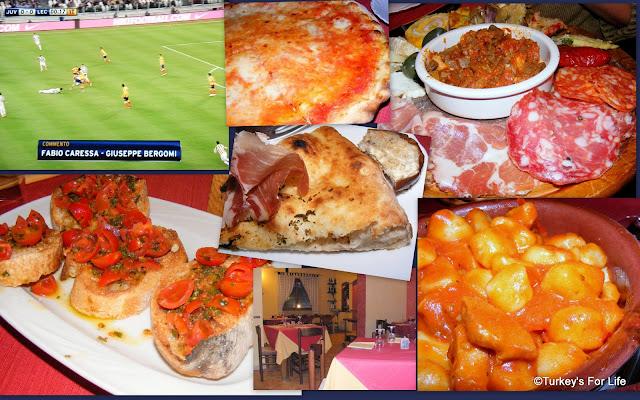 Italian Food Selection