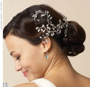 wedding hair combs pearl