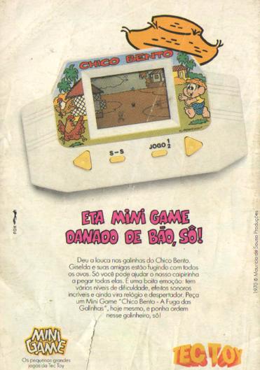 Propaganda do Mini Game da Tec Toy em 1992