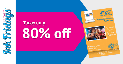 compandsave ink fridays glossy photo paper