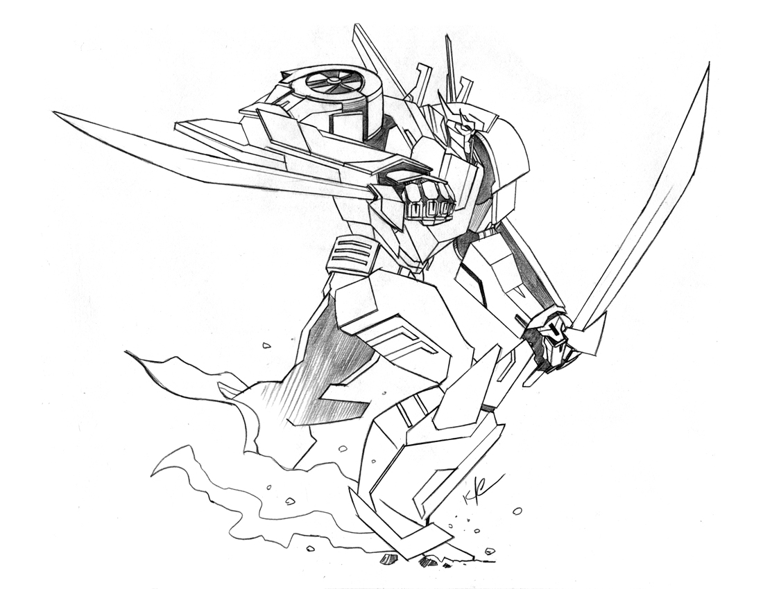the bad flip blog transformers prime wheeljack sketch