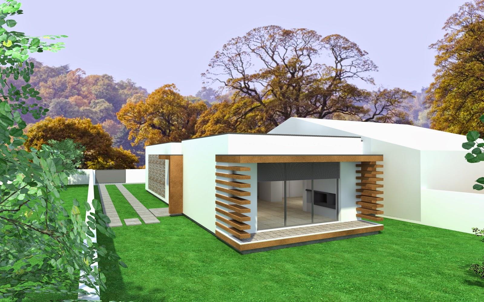 Casas modulares steel houses steel houses silvalde - Casas modulares portugal ...